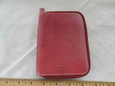 Coach vintage leatherware palm pilot case