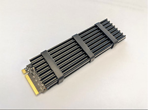 NEW Samsung 970 EVO Plus NVMe M.2 MZ-V7S2T0B/AM 2TB w/ Heatsink installed