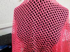 2 yd fish mesh fabric good weight  way spandex lycra MADE IN USA J4195