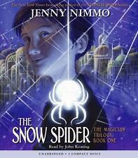 The Snow Spider The Magician Trilogy Audio Book by Jenny Nimmo 3 CD's Unabridged