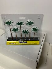 New Woodland Scene-A-Rama Palm Trees Train Scenery N/Ho Sp4152