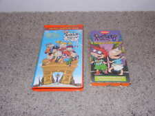 Rugrats - In Paris (VHS 2001) Clam shell and A Rugrats Vacation (VHS, 1997)