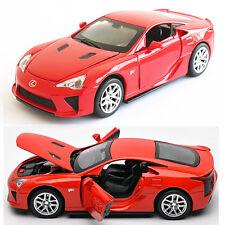 Lexus LFA 1:32 Alloy Diecast Model Car Toy Collection Pullback Sound&Light Red