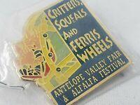 Vintage Collectible Pin: Antelope Valley Fair & Alfalfa Festival Ferris Wheels