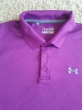 Under Armour long sleeve shirt for men's heat gear purple