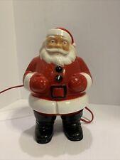 Vintage Light Up Santa Claus Plastic Figure 1950's 1960's General Products
