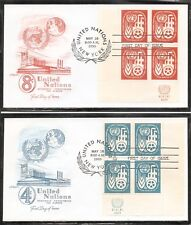 United Nations NY SC 71-72 Economic Commission for Europe FDC . Armaster Cachet