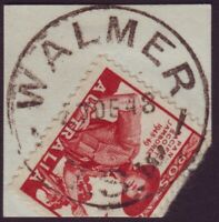 "NSW POSTMARK ""WALMER"" DATED 27/12/1948 - PO CLOSED 30/6/1979 (A11142)"