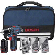 Atornillador  BOSCH GSR 12V-15 (con 2 baterías de 2,0 Ah + cargador)