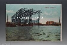 Ansichtskarte Hamburg Vulcanwerft vermutlich um 1912