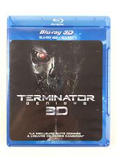 2 Blu Ray 3D Terminator Genisys