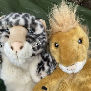 Lion & Tiger Hand Puppets By Puppet Company & Ravensden