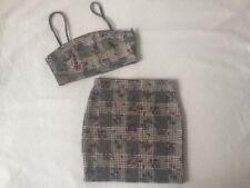 Polyester Plaids & Checks Petite Skirts for Women