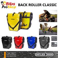 NEW 2017 ORTLIEB Back Roller CLASSIC (Pair) Bike Panniers QL2.1 IP64 WATERPROOF