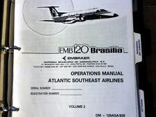 Embraer EMB 120 Brasilia Pilot's Training Manual,  Vol. 2 Operations Manual