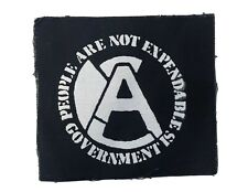 Aus Rotten Small Patch *Dirt, Crass, Discharge, Disclose, Conflict, Antisect,...