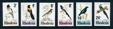 RHODESIA 1977 BIRDS OF RHODESIA SG537/542  MNH