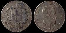 pci854) Regno Vittorio Emanuele II  lire 5 scudo 1870 TONED