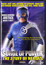 Surge of Power: The Stuff of Heroes (DVD, 2006) Lou Ferrigno, New