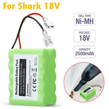 18V 2.5Ah Ni-Mh Replacement Battery For Shark Xb780N Sv760 Sv780 Vacuum Cleaner