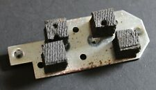 Vintage 1970's Gibson Patent Number Mini Humbucker Pickup Mounting Plate 0117P2