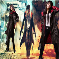 High-Quality DMC 5 Devil May Cry 5 Dante Cosplay Costume Men Jacket Coat