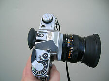 vintage canon AE-1 film camara with 50 mm lens nice and works great collectors