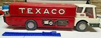 Vintage Texaco Jet Fuel Pressed Steel Truck Boxed By Brown & Bigelow