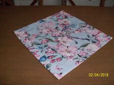 Tischläufer Tischdecke  Dekoration 40cm x 40cm   Deko Kirschblüten Neu