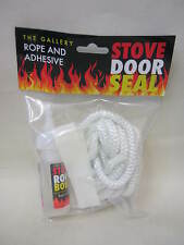 New The Gallery Fire Log Burner Stove Rope Door Seal Kit  8MM X 2.5M