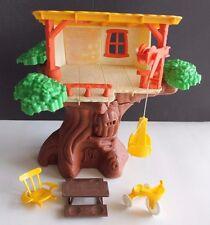 VINTAGE 1975 ROMPER ROOM WEEBLES TREE HOUSE