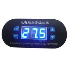 12V Digital Thermostat Heat Cool Controller Temperature Alarm Sensor Meter New