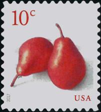 2017 10c Red Pears (genus Pyrus) Fruit Scott 5178 Mint F/VF NH