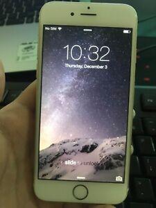 Apple iPhone 6 iOS 8 - RARE IOS 8 - 16GB - Gold (Unlocked) A1586 (CDMA+GSM)