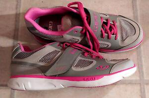 Giro Damen Fahrrad Bike Schuhe Gr. 42 grau/pink NEU