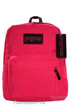 JanSport Superbreak Backpack - Fluorescent Pink - NWT