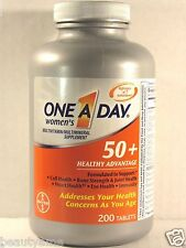 ONE A DAY Womens 50+ Healthy Advantage 200 Tablets *Multivitamin, Multimineral*