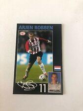 Spelerskaart Topspieler PSV Arjen Robben Chelsea Bayern Munchen