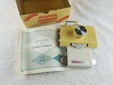 Intarsia Carriage Model AG-20 Knitting Machine Accessory Manual Untested