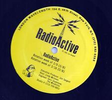 Radioactive (Promo radiospots by various artists) Stones/George Harrison