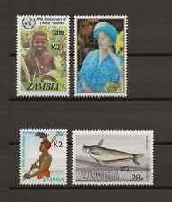 ZAMBIA 1991 SG 636-9 MNH Cat £207