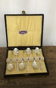 Boxed Vintage Silver Plate Apostle Spoons