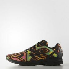Adidas Originals Jeremy Scott ZX Flux Tech Psychedelic Shoes Size 7 us S77841