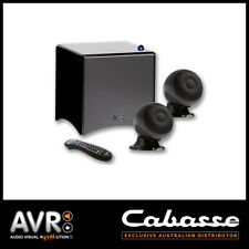 Cabasse Cineole 2.1 System Speakers and Subwoofer