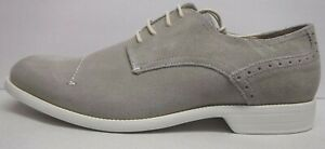 Stacy Adams Size 8.5 Oyster Suede Wilcox Oxford New Mens Shoes