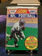 1990 Score Football Unopened Packs (2 pack lot) - Discounts up to 25% inside