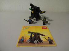 ( J11 ) Lego 6030 Katapult Ritterburg  MIT BA 100 % KOMPLETT GEBRAUCHT kg