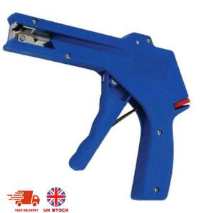 All Steel Heavy Duty Cable Tie Fasten Gun Pliers Crimper Tensioner Cutter Tool