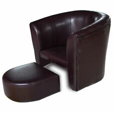 Brown Armchair for Children