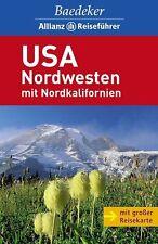 USA Nordwesten mit Nordkalifornien. Baedeker Allianz-Reiseführer von Ole Helmhausen (2009, Taschenbuch)